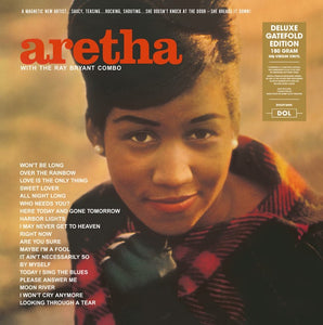Aretha Franklin with The Ray Bryant Combo ‎– Aretha - New Vinyl Lp 2018 DOL EU Import 180gram Reissue with Gatefold Jacket - Jazz / Soul-Jazz