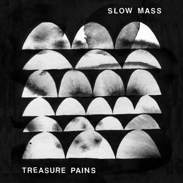 Slow Mass - Treasure Pains - New Vinyl 2016 LandLand Colportage Limited Edition (300) 'Standard' Cover Pressing on Clear Vinyl + Download - Chicago, IL Indie Rock / Post-Punk