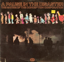 A Pause In The Disaster - The Satire Of The Conception Corporation - VG Stereo 1970 USA - Comedy / Spoken Word