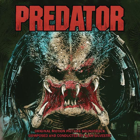 Alan Silvestri ‎– Predator (Original Motion Picture Soundtrack) - New 2 LP Record 2020 Real Gone Blood Red / Green Predator Blood Splatter Vinyl - 80's Soundtrack