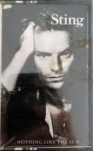Sting - ...Nothing Like The Sun - VG+ 1987 USA Cassette Tape - Rock/Pop