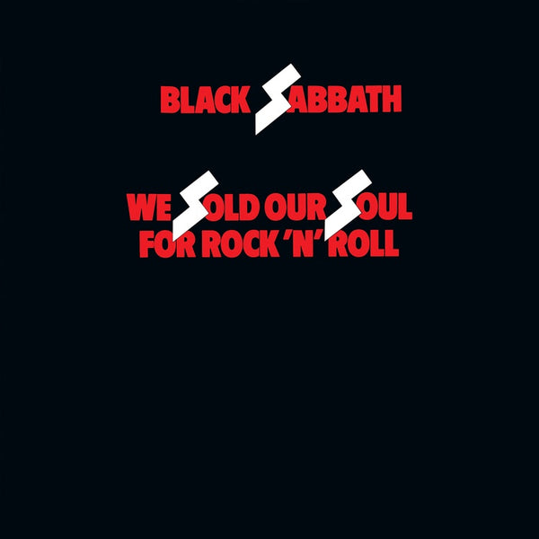 Black Sabbath - We Sold Our Soul for Rock 'n' Roll - New Vinyl 2 Lp 2018 Rhino 'ROCKtober' Exclusive Compilation Reissue on Red Vinyl -  Hard Rock