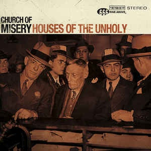 Church Of Misery ‎– Houses Of The Unholy - New 2 Lp Record 30th Anniversary Gold Sparkle Vinyl Edition - Doom Metal