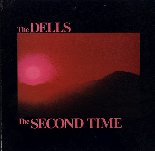 The Dells ‎– The Second Time - VG+ Lp Record 1988 Veteran USA Vinyl - Soul