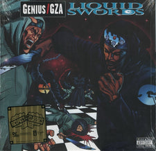 Genius / GZA ‎– Liquid Swords - New Vinyl 2015 Geffen Records 'Respect The Classics' 20th Anniversary Reissue - Rap / Hip Hop / Hardcore (FU: Wu-Tang Clan)