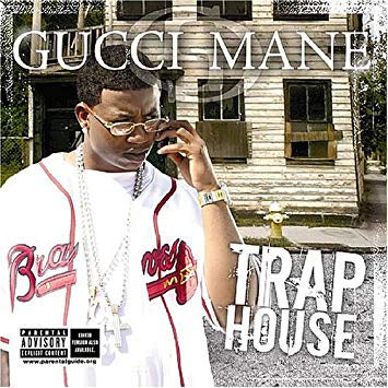 Gucci Mane - Trap House - New Vinyl 2 Lp 2018 Big Cat Pressing (First Time on Vinyl!) - Rap / GUCCI