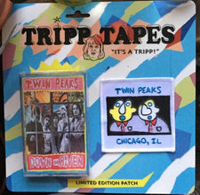 Twin Peaks - Down In Heaven - New Cassette 2016 Tripp Tapes Special Edition Tape + Patch + Pin -  Chicago IL Garage / Alt-Rock