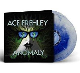 Ace Frehley - Anomaly Deluxe - New Vinyl Record 2017 180Gram Deluxe 2LP Pressing on 'Reflex Blue/Clear Starbust' Vinyl with Poster, Liner Notes, 3 Bonus Tracks and Collectible Download Card - Hard Rock