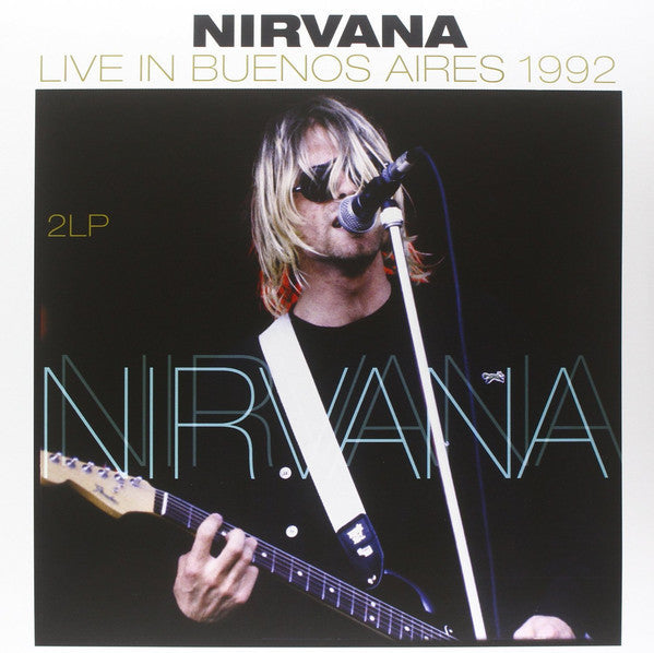 Nirvana - Live In Buenos Aires 1992 - New Vinyl 2014 Netherlands Import - Grunge, Alternative Rock