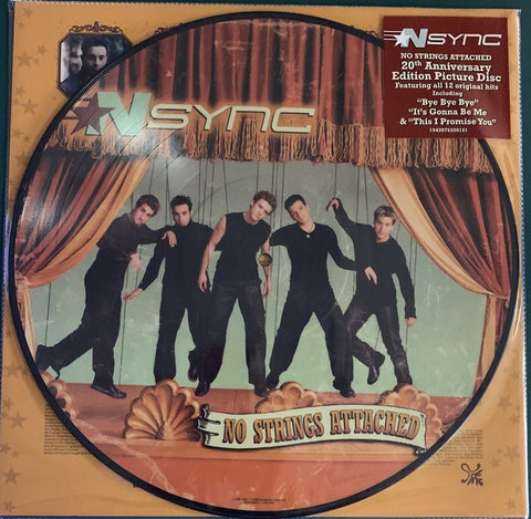*NSYNC ‎– No Strings Attached - New LP Record 2020 RCA 20th Anniversary Edition Vinyl Picture Disc - Pop