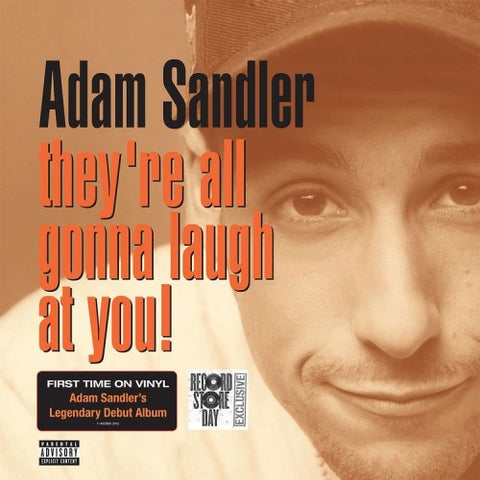 Adam Sandler - They're All Gonna Laugh At You (1993) - New Lp Record Store Day 2018 Warner. 2 Lp RSD USA Vinyl - Comedy