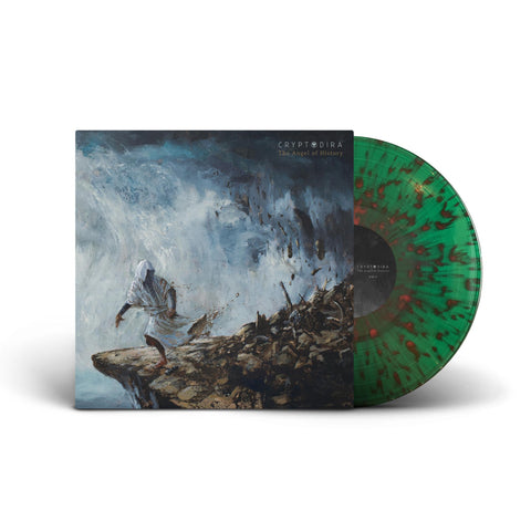 Cryptodira - The Angel of History - New LP Record 2021 Good Fight Limited Translucent Green w/ Red Swirl Vinyl - Death Metal