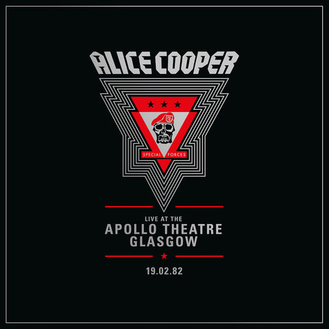 Alice Cooper - Live from the Apollo Theatre Glasgow - New 2 Lp Record Store Day 2020 Warner USA RSD Vinyl - Hard Rock