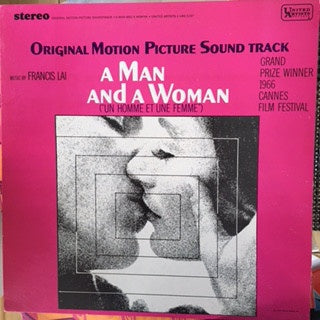 "Francis Lai ‎- A Man And A Woman (""Un Homme Et Une Femme"") - Original Motion Picture Sound Track - VG Stereo 1968 USA - Soundtrack"