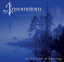 Insomnium ‎– In The Halls Of Awaiting - New Vinyl 2 Lp 2018 Spinefarm Limited Reissue on Translucent Blue Vinyl with Gatefold Jacket - Death Metal