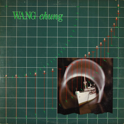 Wang Chung ‎– Points On The Curve - Mint- 1983 Geffen USA Lp - Synth-Pop