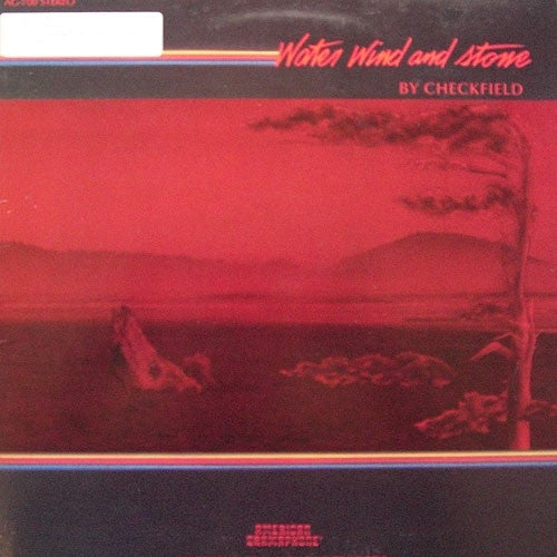 Checkfield ‎– Water Wind And Stone - Mint- Lp Record 1986 USA Original Vinyl - Folk