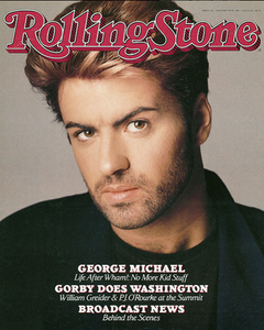 Rolling Stone Magazine - Issue No. 518 - George Michael