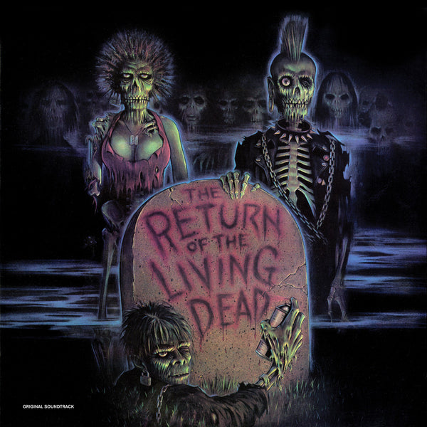 Soundtrack - The Return of the Living Dead - New Vinyl Record 2016 Real Gone Music Limited Edition Grey' Brainsss' Colored Vinyl