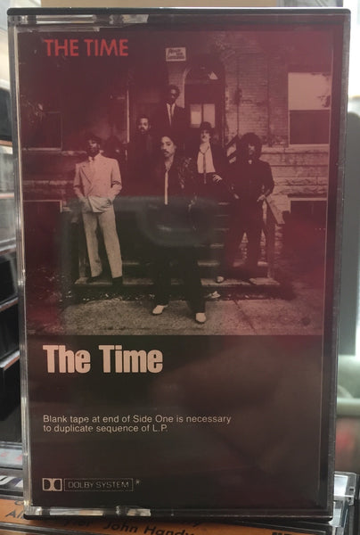 The Time - The Time - VG+ 1981 USA Cassette Tape - Rock/Funk