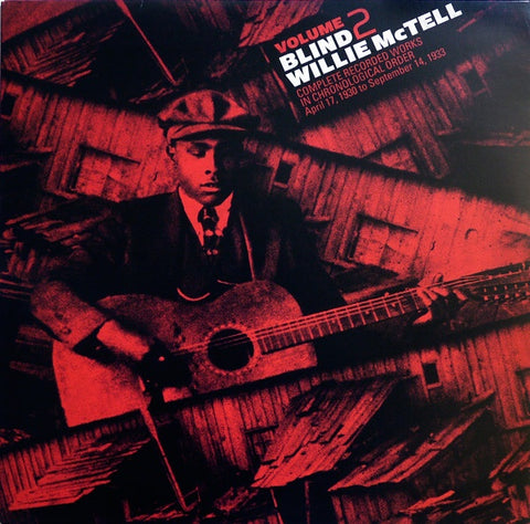 Blind Willie McTell ‎– Complete Recorded Works In Chronological Order, Volume 2 -  New LP Record 2013 Third Man USA Vinyl - Blues