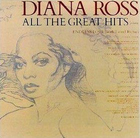 Diana Ross - All The Great Hits - VG+ 1981 Stereo 2 Lp Set USA - Soul/Disco