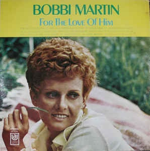 Bobbi Martin ‎- For The Love Of Him - VG+ Stereo Vinyl 1969 USA - Country