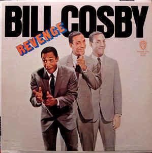 Bill Cosby ‎– Revenge VG+ 1967 Warner Bros Mono Pressing USA - Comedy