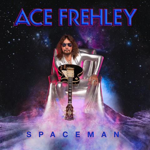 Ace Frehley ‎– Spaceman - New Vinyl Lp 2018 eOne Limited Edition Pressing on 180gram Silver Vinyl with Download - Hard Rock