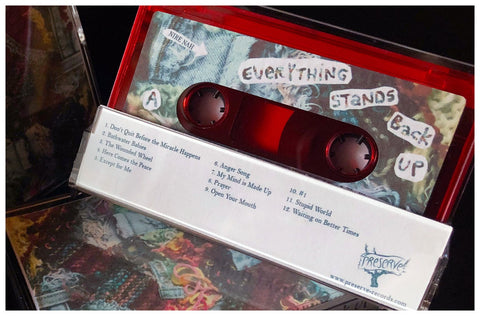 Nire Nah -  Everything Stands Back Up - New Cassette 2020 Preserve Red Tape - Chicago Alternative / Folk