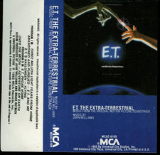 John Williams ‎– E.T. The Extra-Terrestrial (Music From The Original Motion Picture Soundtrack) - Used Cassette 1982 MCA Records - Soundtrack