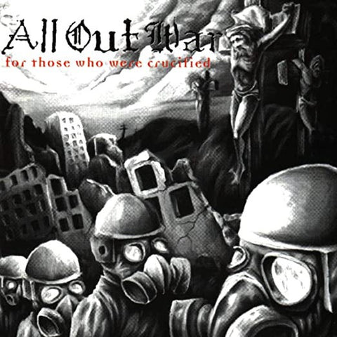 All Out War ‎– For Those Who Were Crucified (1998) - New LP Record 2019 Victory USA Blue Vinyl & Download - Hardcore / Thrash / Metalcore
