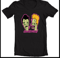 Shuga Records - Beavis and Butthead (Reimagined by Tavi Veraldi) Black T-Shirt