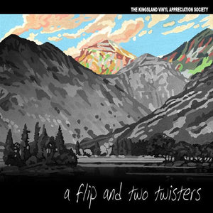 Various ‎– A Flip And Two Twisters - New 2 Lp Record 2007 The Kingsland Vinyl Appreciation Society New Zealand Import Vinyl - Alternative Rock / Power Pop