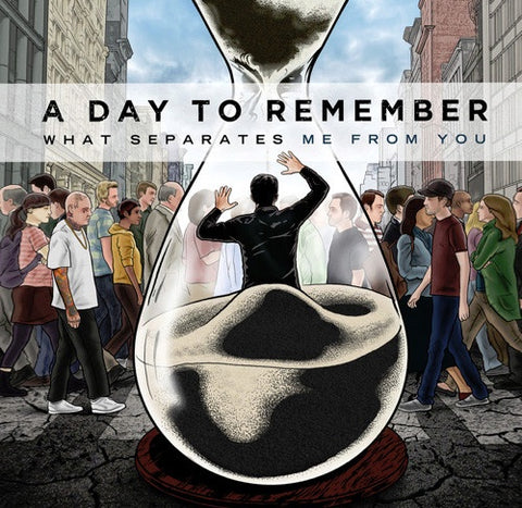 A Day To Remember ‎– What Separates Me From You - New LP Record 2010 Victory Colored Vinyl & Download - Metalcore