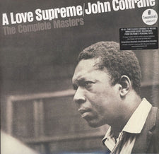 John Coltrane ‎– A Love Supreme: The Complete Masters - New Vinyl 2016 Impulse! Gatefold 3-LP Expanded Edition (Includes Unreleased Recordings, 20-Page Booklet and Original Stereo Remaster) - Jazz / Hard Bop