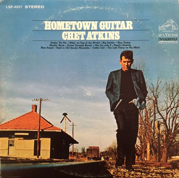 Chet Atkins - Hometown Guitar - VG+ 1968 Stereo USA - Country