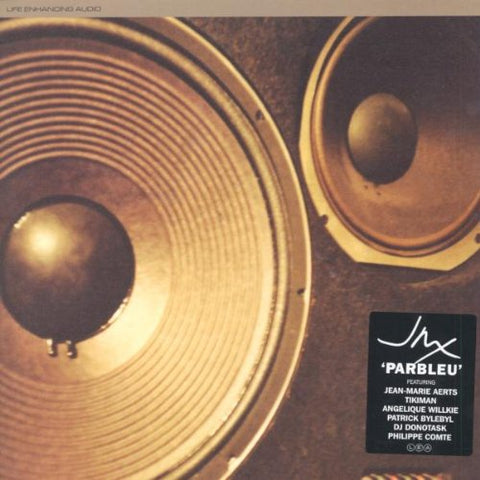 JMX ‎– Parbleu - New 2 Lp Record 2002 Life Enhancing Audio Belgium Import Vinyl & Insert - Electronic / Leftfield / Dub / Downtempo