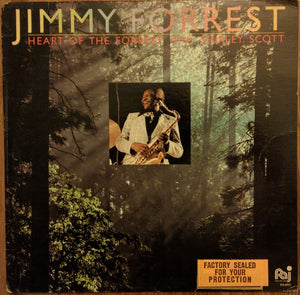Jimmy Forrest ‎– Heart Of The Forrest - Mint- Lp Record 1982 USA Original Vinyl - Jazz