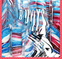 (PRE-ORDER) Panda Bear - Buoys - New Vinyl Lp 2018 Domino Deluxe 'Indie Exclusive' on Red Marble Vinyl with Stoughton Tip-On Gatefold Jacket and Download - Psych Electronica / Indie Rock