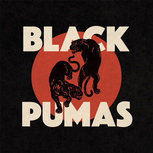 Black Pumas - Black Pumas - New LP Record 2019 Limited Edition Red & Black Marble Vinyl - Psychadelic Soul