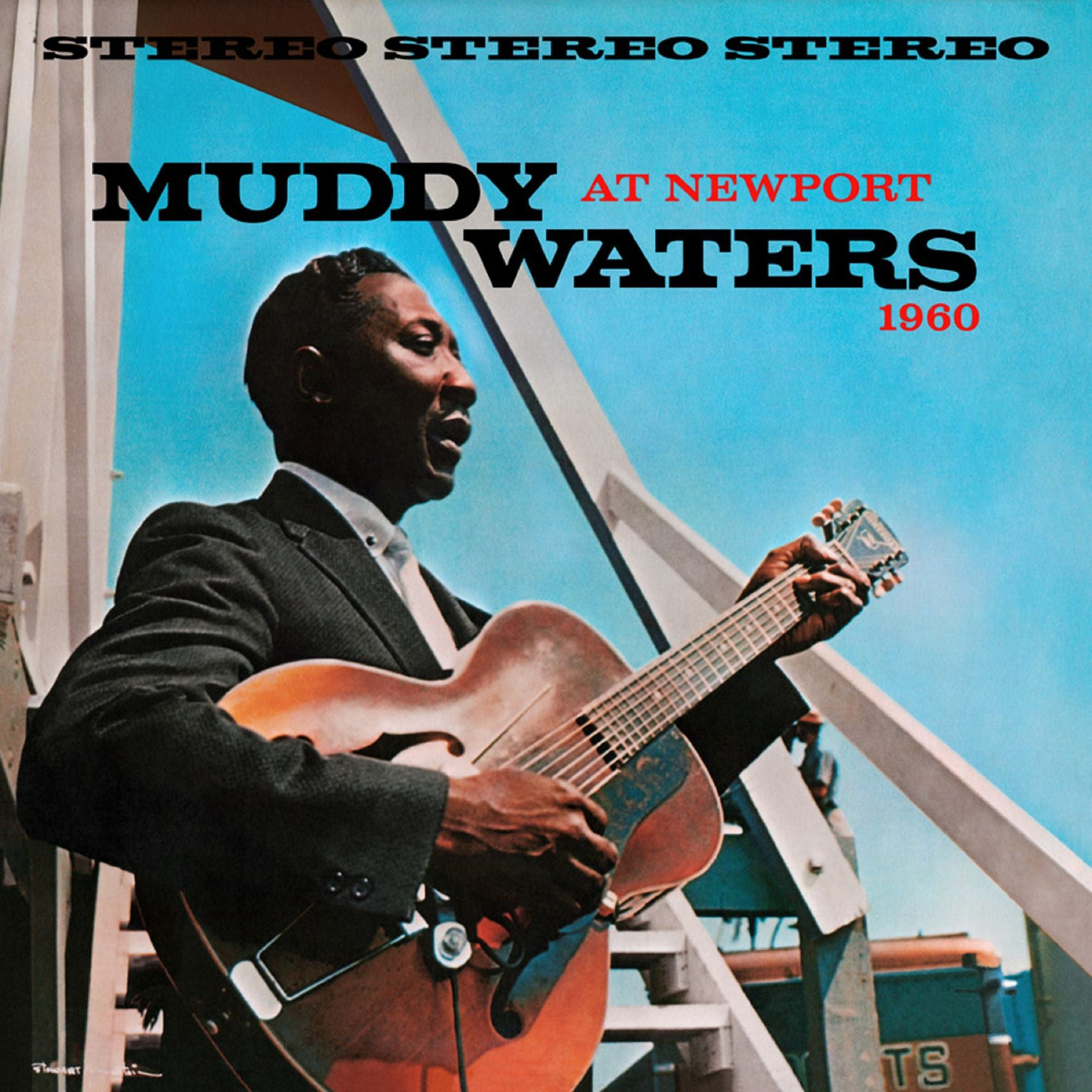 Muddy Waters ‎– Muddy Waters At Newport 1960 - New 2019 Record LP 180 gram Translucent Blue Vinyl  Reissue - Chicago Blues