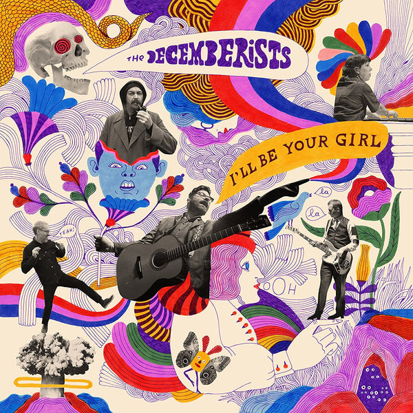 The Decemberists - I'll Be Your Girl - New Vinyl 2018 Capitol Records 'Indie Exclusive' on Translucent Blue Vinyl with Gatefold Jacket and Download - Alt / Folk Rock
