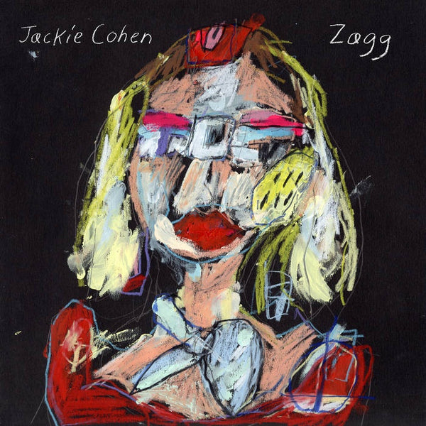 Jackie Cohen - Zagg - New Vinyl LP 2019 with Download - Indie Pop / Lonelycore