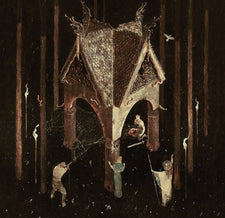 Wolves In The Throne Room ‎– Thrice Woven - New Vinyl 2017 Artemisia Gatefold 2-LP Pressing on Clear with Grey Splattered Vinyl - Black Metal / Atmospheric