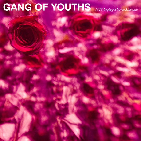 Gang of Youths - MTV Unplugged (Live in Melbourne) - New Vinyl 2-LP 2018 Mosy Recordings Pressing on 'Sea Glass' Colored Vinyl with DVD Insert (Limited to 1000!) - Indie Rock