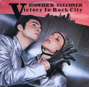 Roderick Falconer ‎– Victory In Rock City - VG+ Lp Record 1977 United Artists USA - Pop Rock