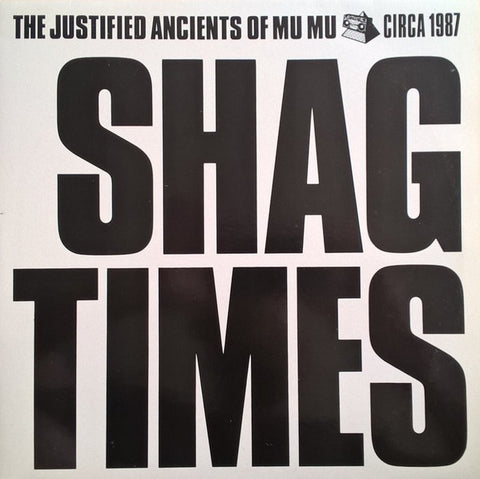 The Justified Ancients Of Mu Mu ‎(The KLF) – Shag Times  - New 2 LP Record 2019 Limited Edition White Swirl Colored Vinyl UK Import - Euro House / HIGHly Recommended