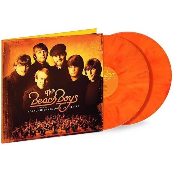 The Beach Boys - The Beach Boys With The Royal Philharmonic Orchestra - New 2019 Record 2LP Orange Vinyl - Rock / Surf