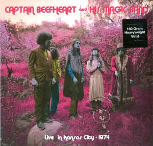 Captain Beefheart And His Magic Band ‎– Live In Kansas City, 1974 - New Lp Record 2015 DOL Europe Import 180 gram Vinyl - Avantgarde / Blues Rock